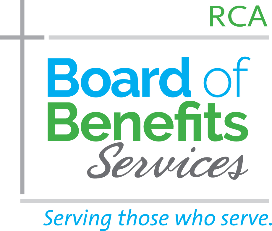 Board of Benefits Services of the RCA logo